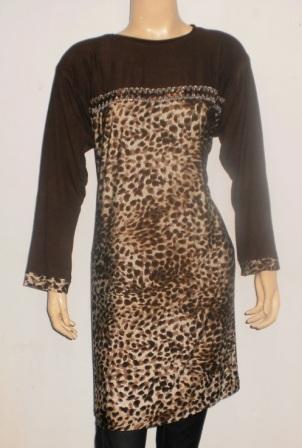 GROSIR BAJU MUSLIM MURAH TANAH ABANG: Baju motif leopar