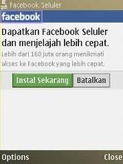 Dowload Aplikasi Facebook untuk Ponsel