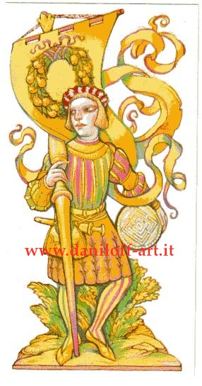 Tarot Thrones | Alexander Danlioff Page of Pentacles