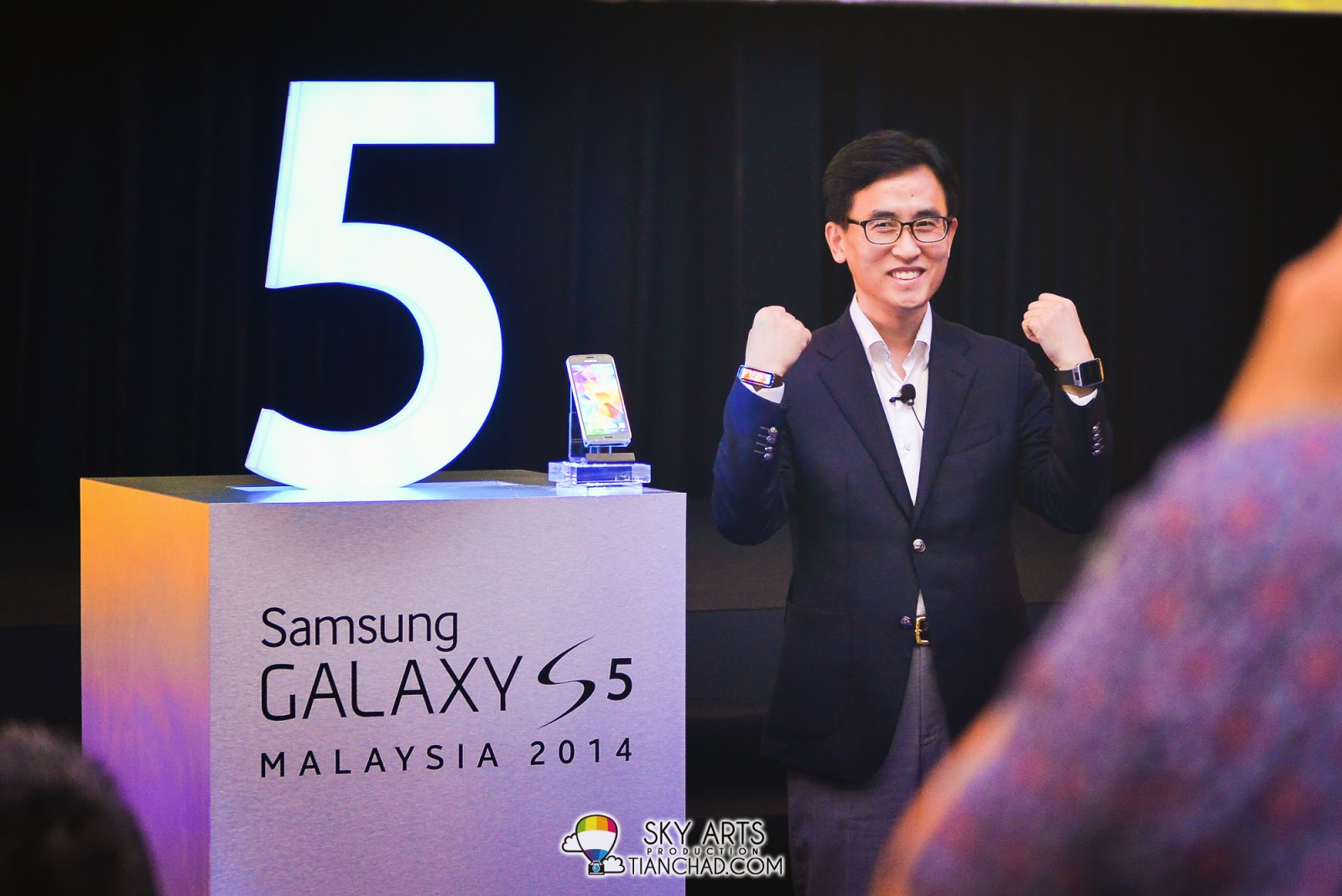 Samsung GALAXY S5, Samsung Gear 2 and Samsung Fit Launch in Malaysia 2014