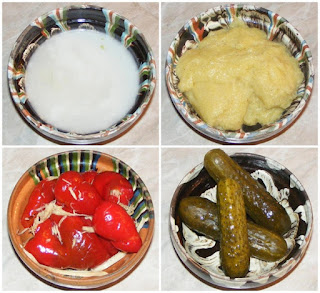 gogosari murati, gogosari in otet, castraveti murati, castraveti in otet, mamaliguta, mujdei de usturoi, muraturi, retete culinare, garnituri, retete de mancare,