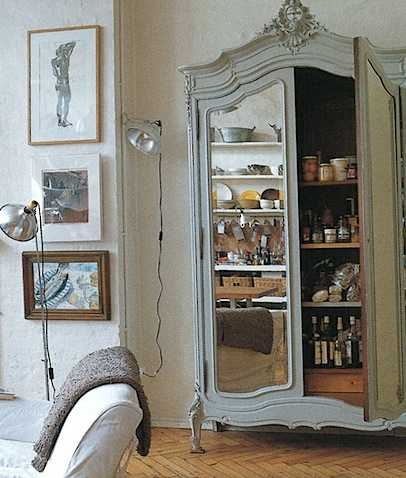 This Mirrored Armoire Would Make The Perfect Pantryu2026