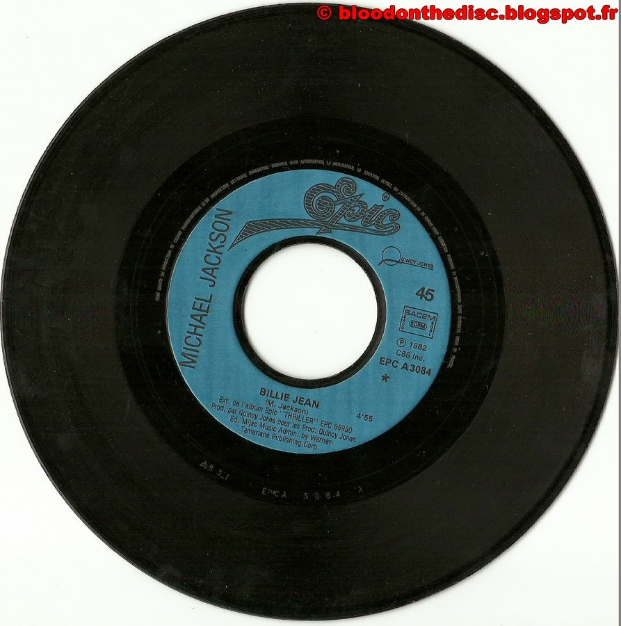 Billie Jean 45T Side 1