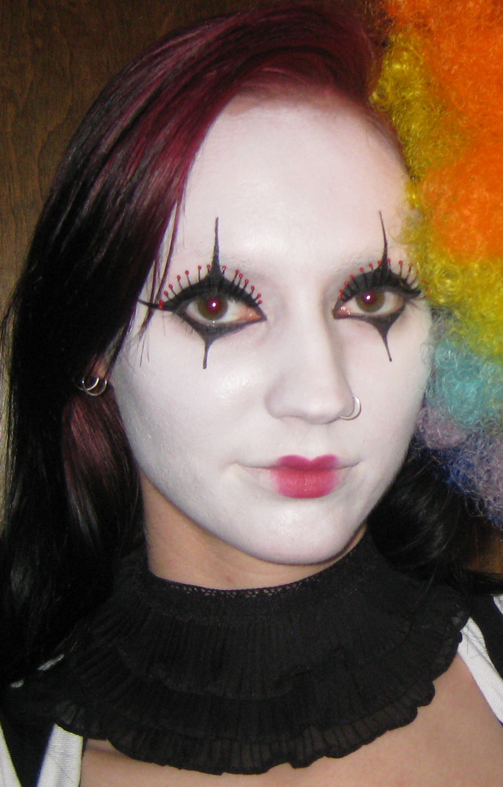Glitter is my crack...: Naughty Jester Costume/Makeup + Halloween ...