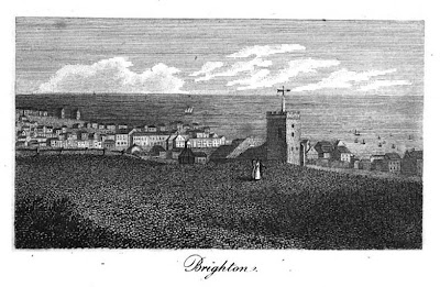 Brighton  from A Guide to all the Watering and Sea-Bathing Places (1815)