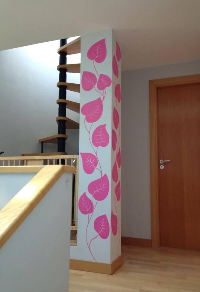 Decopared junio 2013 - Como decorar una columna ...