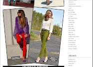 "on FOREVER 21 BLOG""THE SKINNY"""