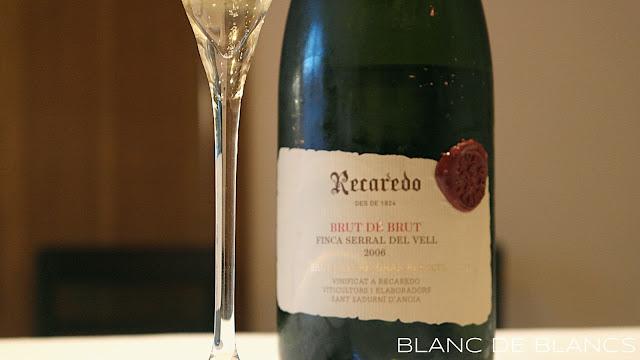 Recaredo Brut de Brut 2006 - www.blancdeblancs.fi