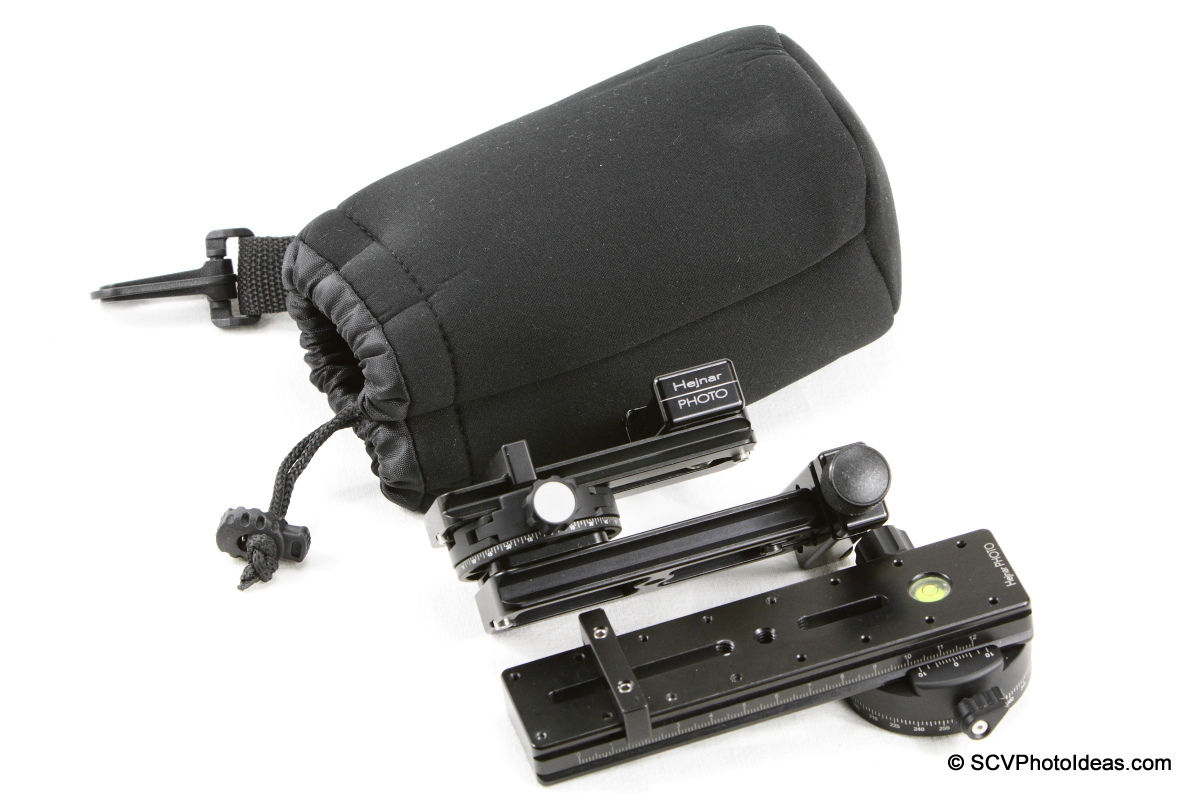 Mini MR Pano head structure w/ Matin Neoprene L pouch