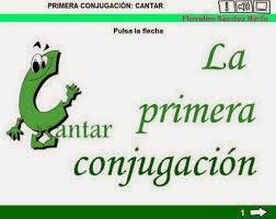http://cplosangeles.juntaextremadura.net/web/edilim/tercer_ciclo/lengua/conjugacion_regular/la_primera_conjugacion/la_primera_conjugacion.html