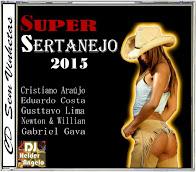 CD Super Sertanejo (2015) Faixas Nomeadas e Sem Vinhetas