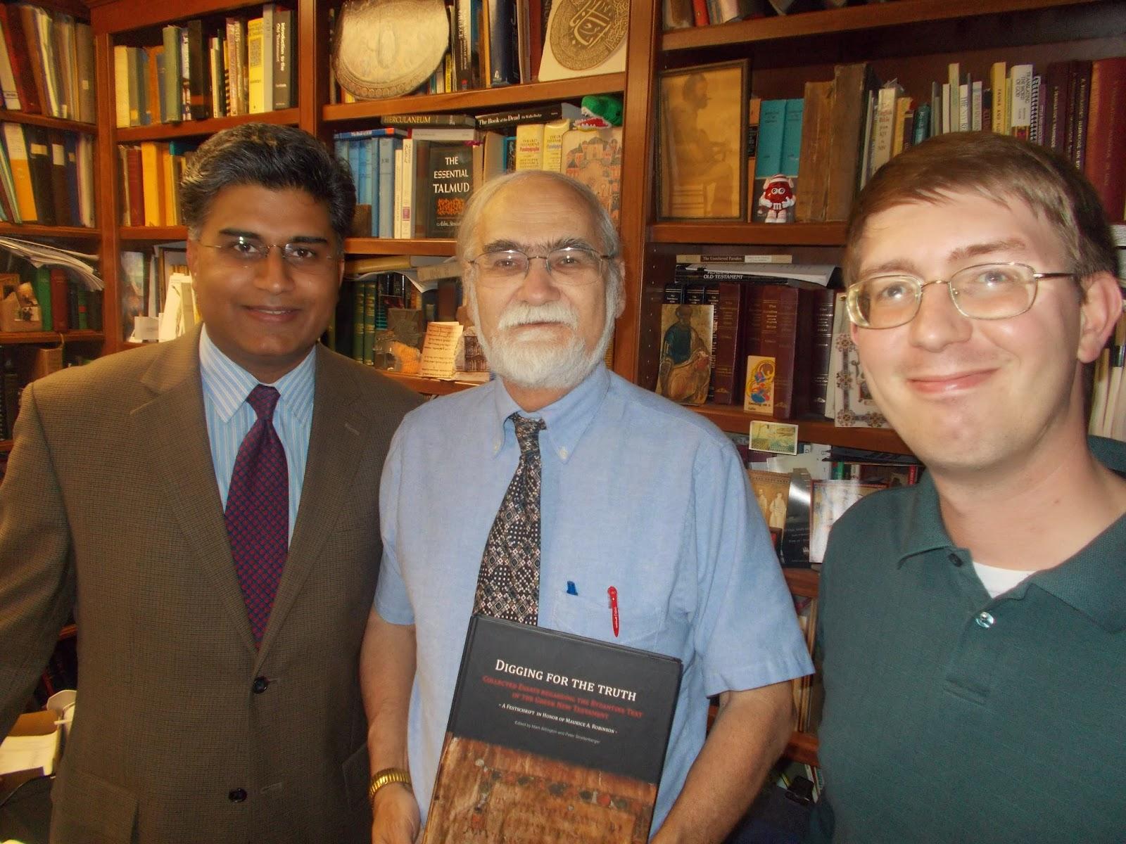 Paroikos Bible Blog: Festschrift for textual scholar. Dr ...