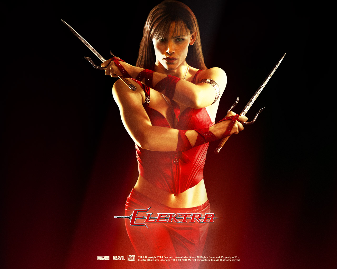 Just Walls: Elektra Movie Character Wallpaper