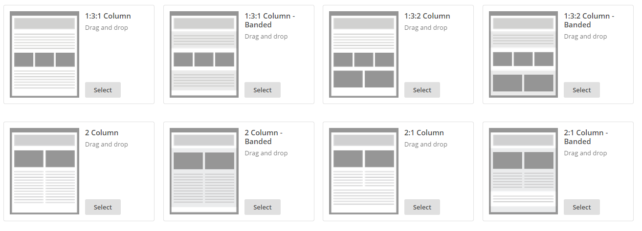 how to use mailchimp templates