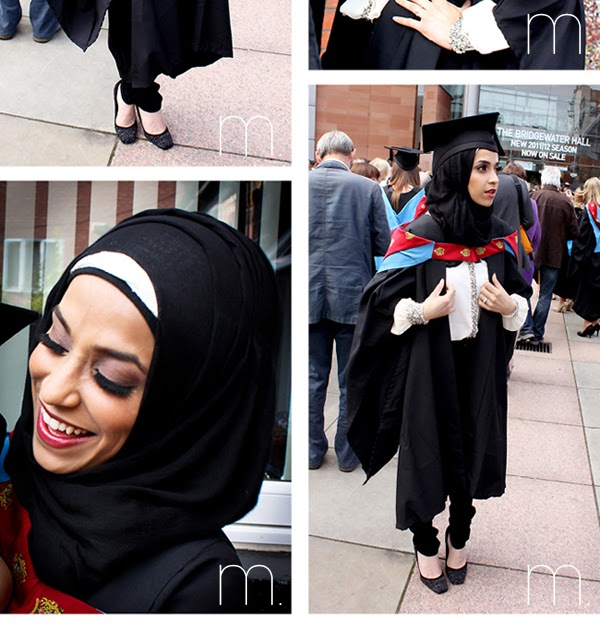Mmi style Graduation Look and Hijabi Hat Tip!