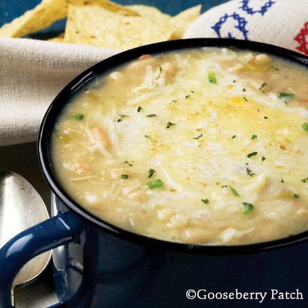 Create A Joyful Life: Soup's On- White Chicken Chili!