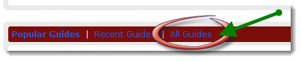 "image showing link to ""All Guides"" web page"