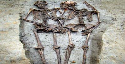 fosil sepasang kekasih