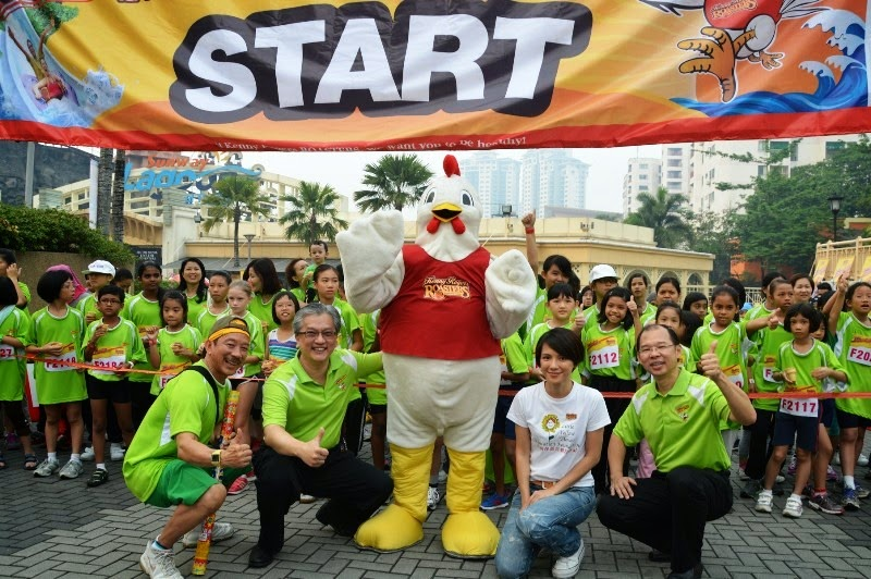 Run for Charity, ROASTERS Chicken Run 2014, kenny rogers roasters, krr