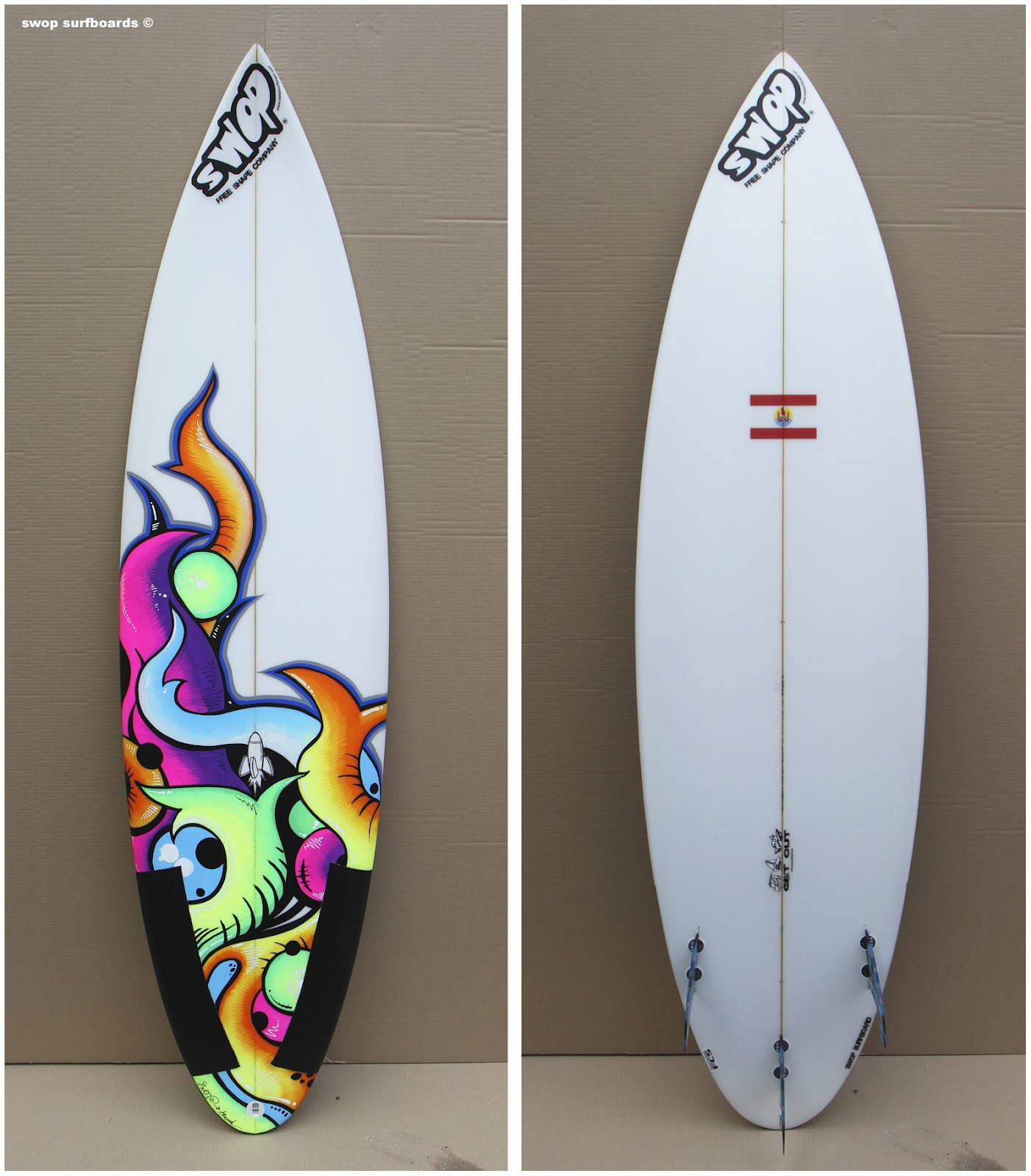 Swop Surfboards Crazy Jungle