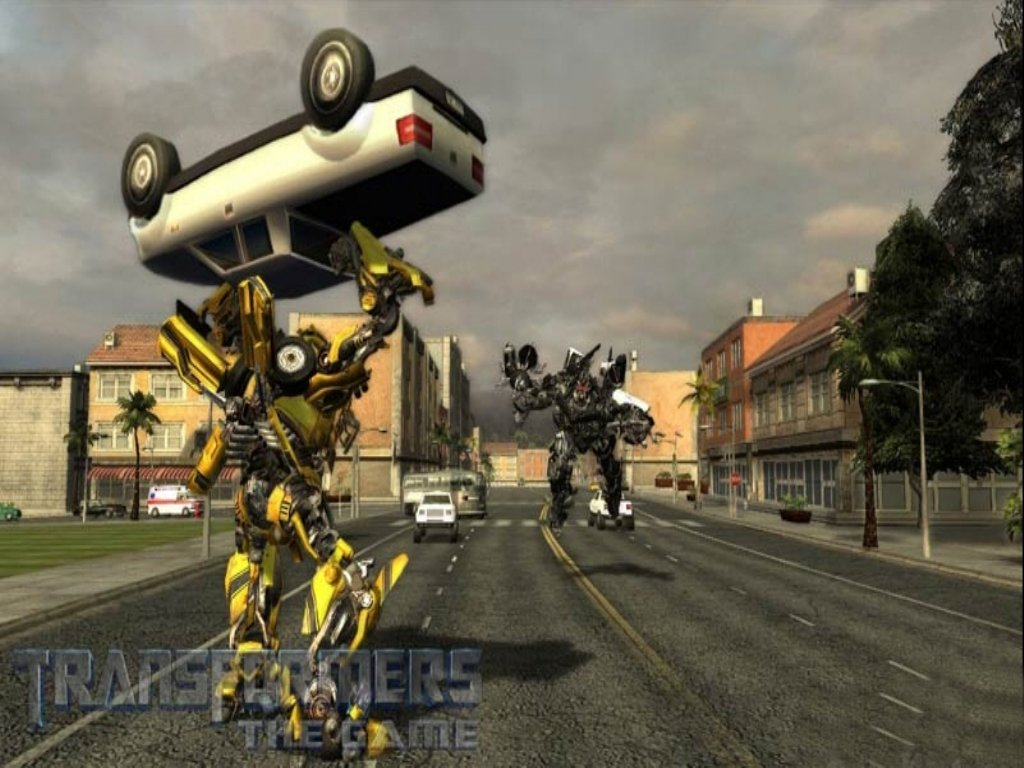Transformers The Game ScreenShot