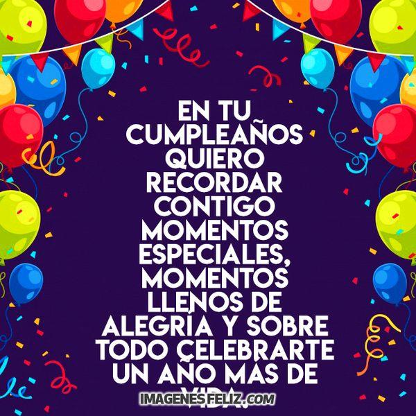 Feliz Cumpleaños Amiga Imágenes Frases Bonitas