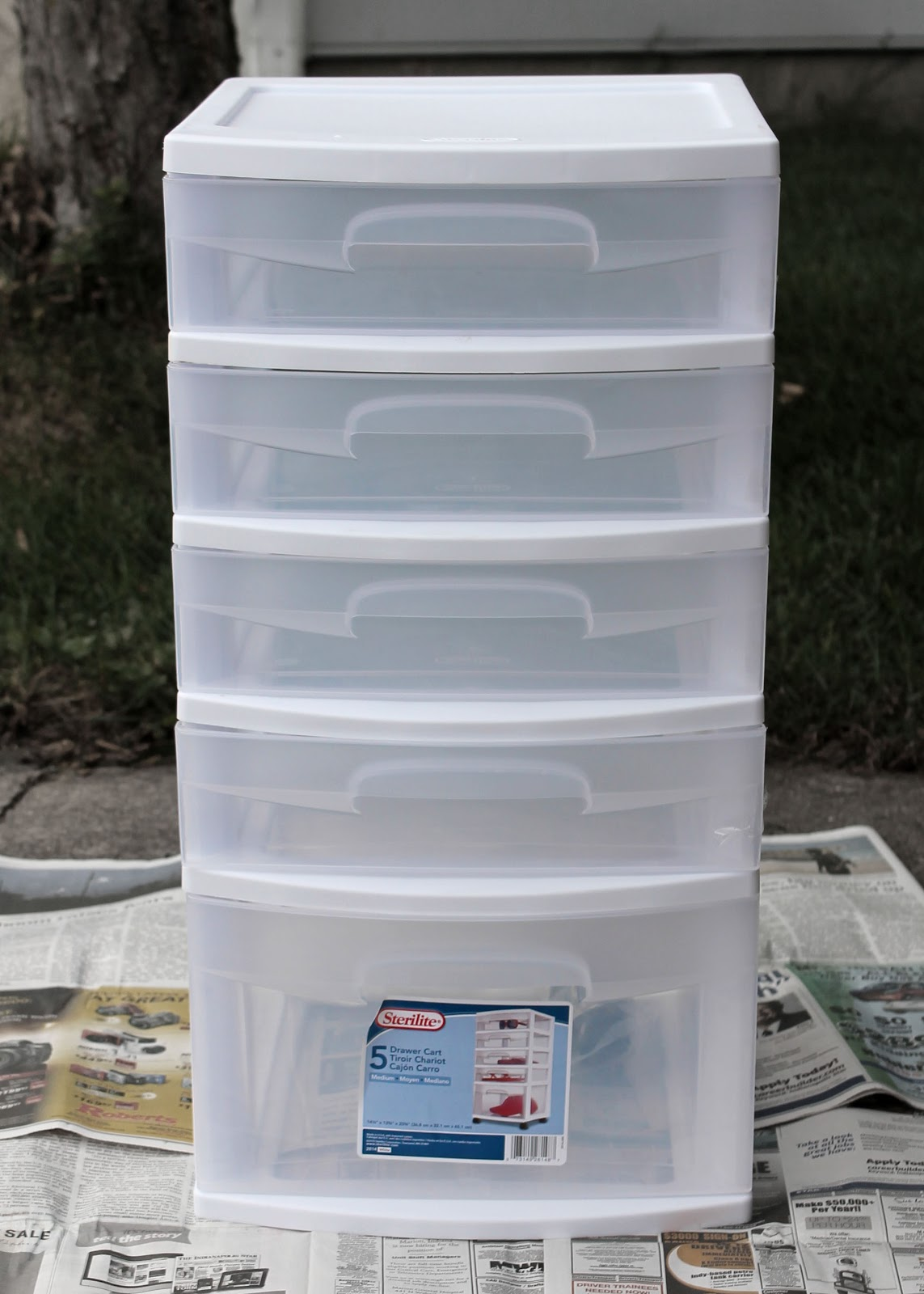 My Crafty Soul Upgrade Those Cheap Plastic Storage Bins