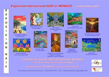 Exposición Colectiva en el Principado de Mónaco, Francia.