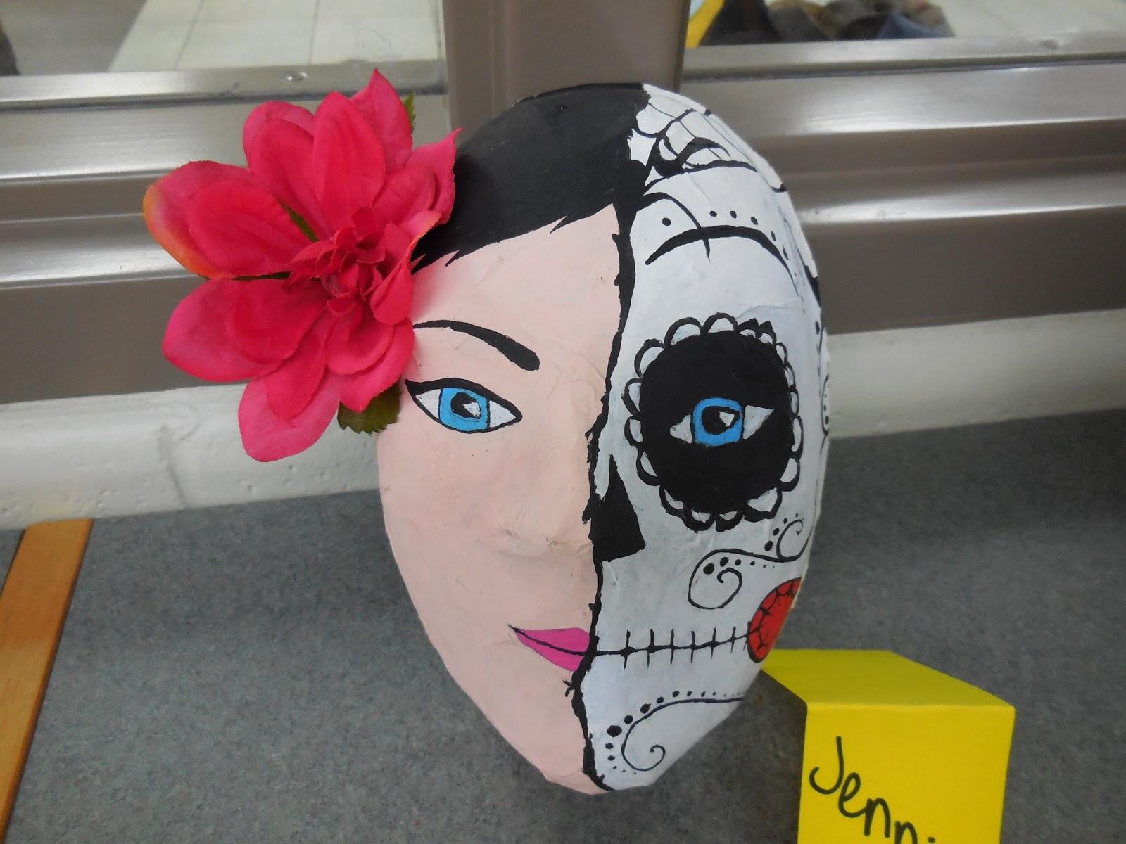 Adventures of a middle school art teacher 8th grade paper for Paper mache mash