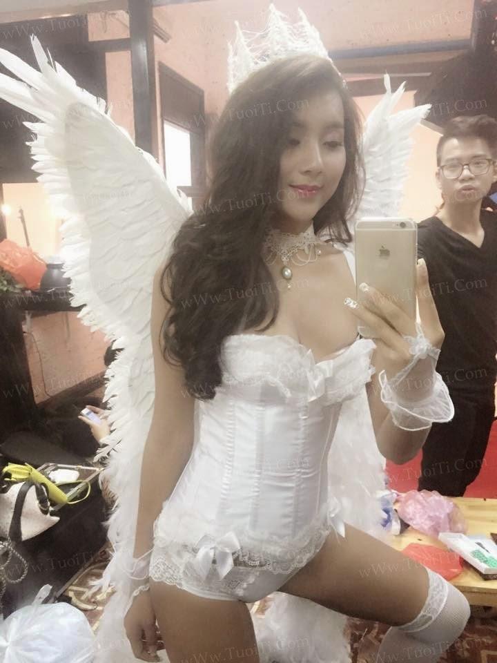 gái xinh Thiên thần Victoria Secret việt nam 5