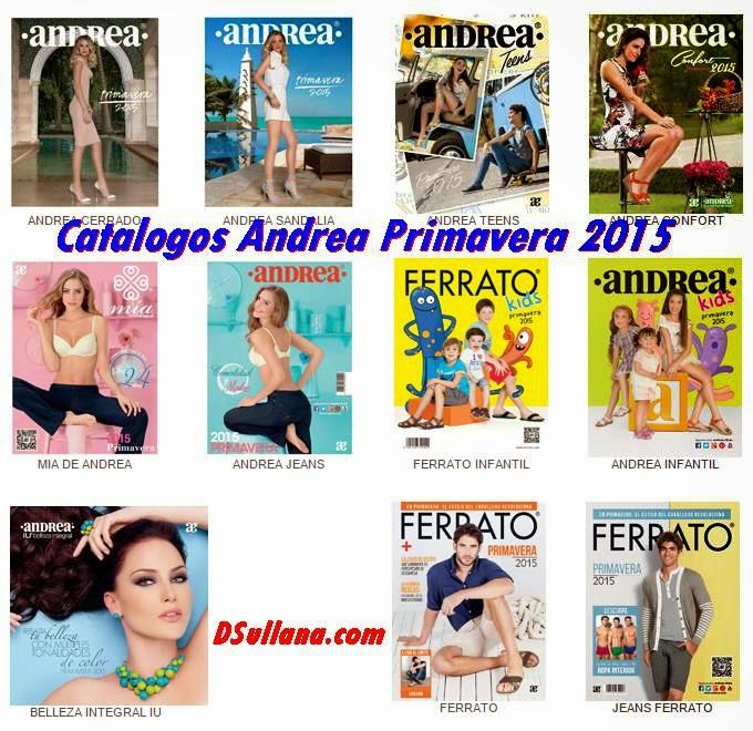 Catalogos Andrea Primavera 2015