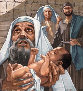 Simeon - Luke 2:25-35