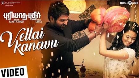 Puriyaatha Puthir   Vellai Kanavu Video Song   Vijay Sethupathi, Gayathrie   Sam C S