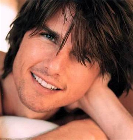 Tom Cruise - another guy that at one time I thought was hot.