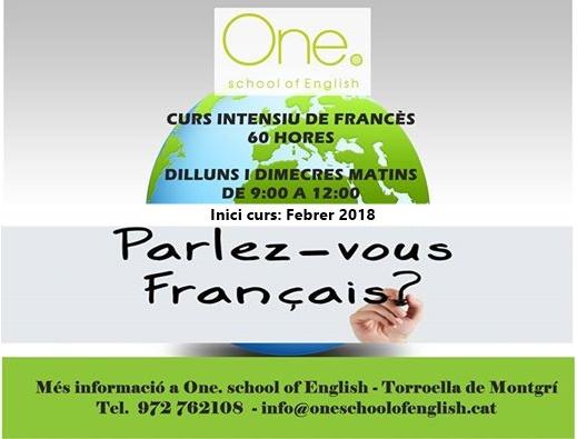 CURS INTENSIU FRANÇAIS