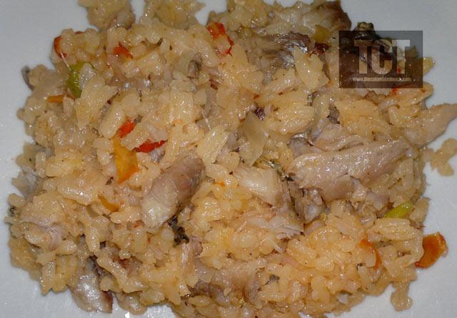 arroz de pescado salado