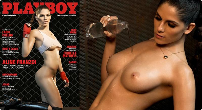Playboy Setembro – Aline Franzoi