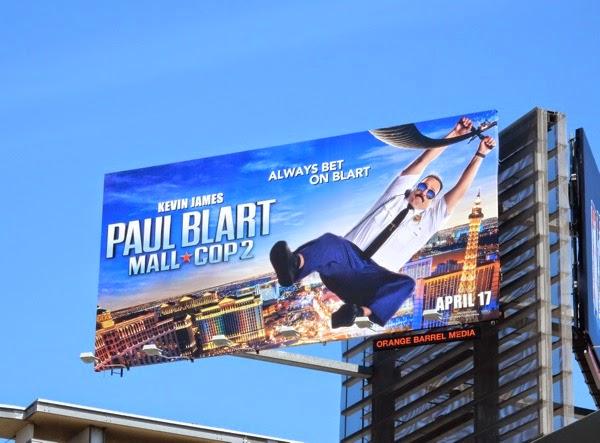 Paul Blart Mall Cop 2 film billboard