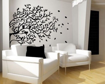 Modern vinyl wall art decals wall stickers wall quotes how to add some grace to your - Decorative wall sticker ...