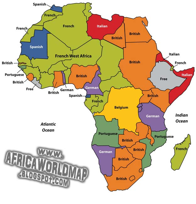 Africa continent world map africa world map gumiabroncs Gallery