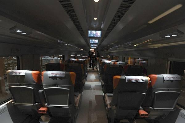 Italian high speed NTV Train