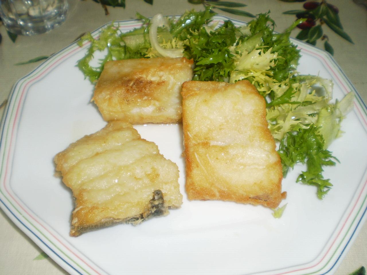 Cocina sin tonterias bacalao frito - Cocinar bacalao desalado ...