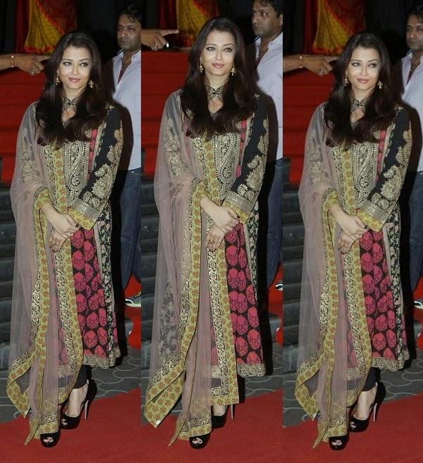 Aishwarya Rai In Designer Sabyasachi Mukherjee's Anarkali ... Sabyasachi Kurtis