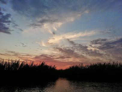 Răsărit în Delta Dunării