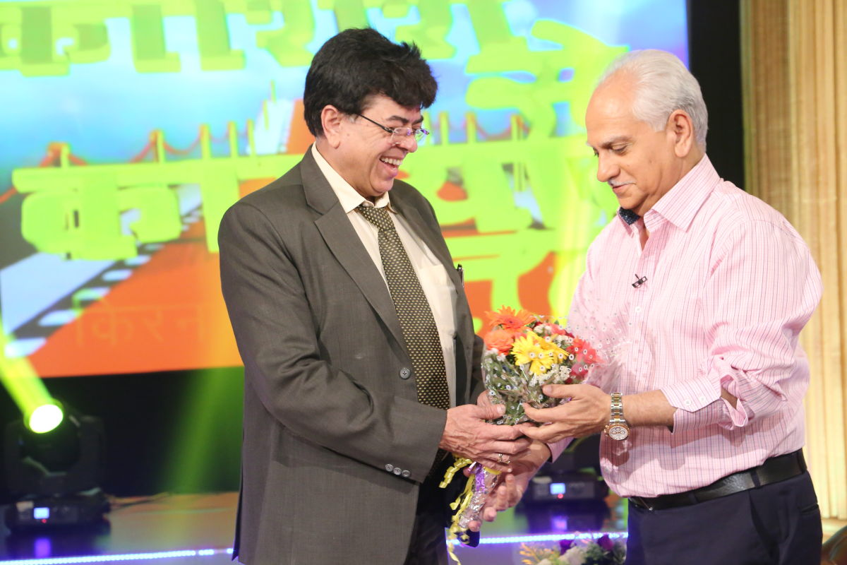 With Ramesh sippy at DDK Mumbai