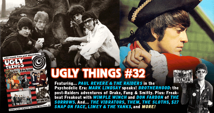 Ugly Things magazine, issue 23, summer 2005 - Belfast Gypsies, The Misunderstood