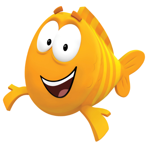 Cartoon characters bubble guppies characters for Bubble guppies fish