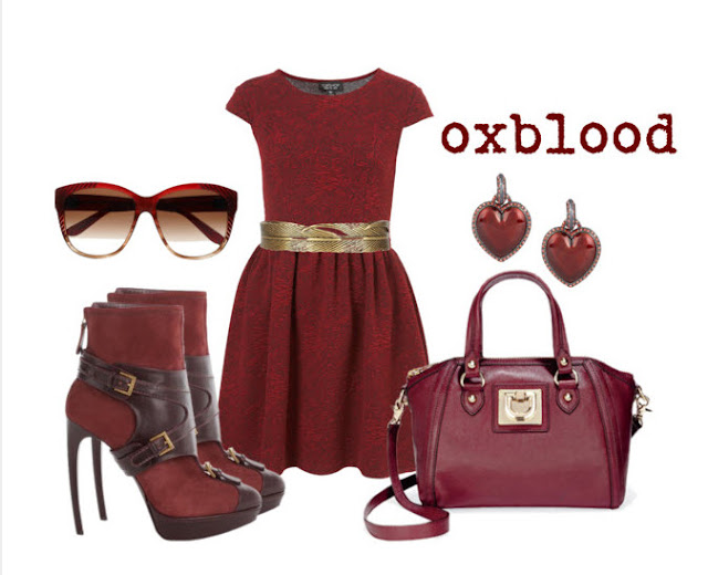 Oxblood What is oxblood fall fashion 2012 maroon burgundy outfit picture photo image
