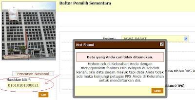 KPU, pemilu, 2014, terdaftar, pemilih, tetap