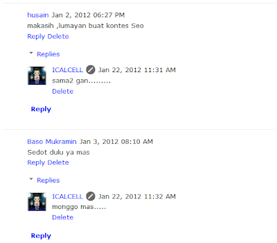 Threaded Comments Pada Blogger